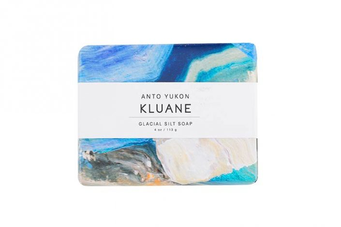 product photography e-commerce bar of artisanal soap kluane on white background